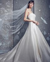 legends romona keveza silk strapless ballgown wedding dress spring 2020