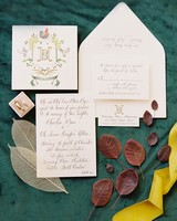 madeline brad wedding stationery