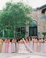 mismatched bridesmaids dresses michelle boyd