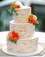 monogram wedding cake grovers cake sensations