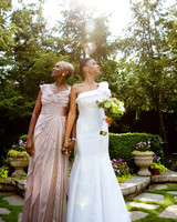 Mother daughter wedding pictures