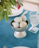 surprise wedding eggs in bowl