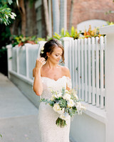 off the shoulder wedding dresses finch photo