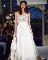 oleg cassini beaded a-line wedding dress spring 2018