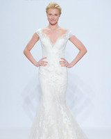 randy fenoli lace v-neck wedding dress spring 2018