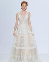randy fenoli off-white v-neck wedding dress spring 2018