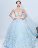 Colorful Wedding Dresses That Make A Statement Down The