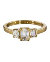 Rebecca Overmann Emerald-Cut Engagement Ring