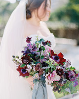 samantha michael wedding bouquet