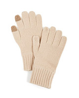 beige gloves