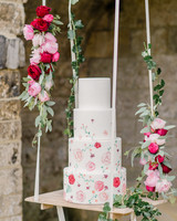 suspended wedding cake tables alexandra vonk