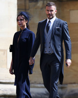 Victoria Beckham and David Beckham royal wedding 2018
