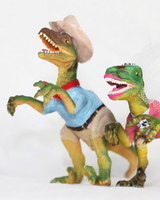 25 unique wedding cake toppers martha stewart weddings wedding cake toppers jurassic park dinosaurs 1115g junglespirit Image collections