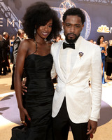 xosha roquemore and lakeith stanfield emmys 2018