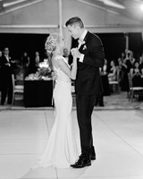70 first dance songs from real weddings martha stewart weddings brette patrick wedding first dance junglespirit Gallery