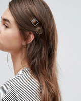 "ASOS ""Mini Open Shapes"" Hair Clips"