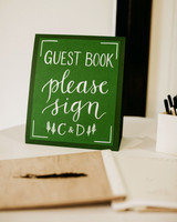 guest book sign in sign
