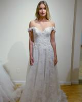 eve of milady off-shoulder v-neck wedding dress spring 2018