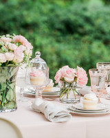 fashionable hostess bridal shower table scape 0416jpg