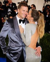 Gisele Bündchen and Tom Brady on the Red Carpet at Met Gala 2017