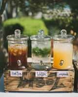 hydration stations non alcoholic water tea lemonade