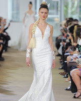 ines di santo v-neck wedding dress spring 2018