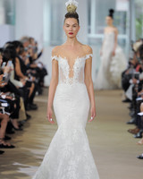 ines di santo mermaid cut wedding dress spring 2018