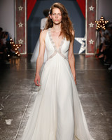 jenny packham wedding dress spring 2018 plunging embroidered neck