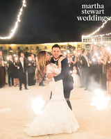 jessica and kris bryant sparklers