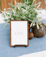 clipboard wedding table number