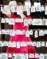 kayla michael wedding escort cards guest