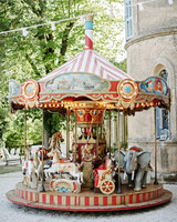 lara kjell circus party carousel