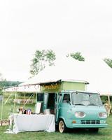 lauren josh wedding cocktail hour photo booth
