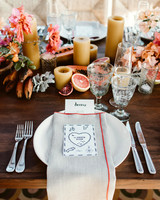 lisa sam mexico wedding centerpiece fruit table setting