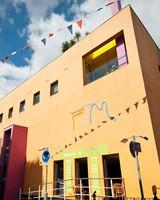 fashion textile museum exterior