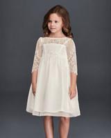 long sleeve flower girl dresses davids bridal