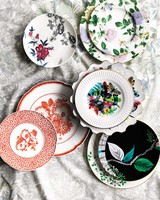 unique wedding china