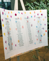 molly michael wedding seating chart