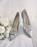 peony matthew england wedding pale blue high heels