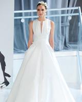 v-neck peter langner wedding dress spring 2018