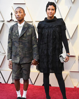 pharrell williams and helen lasichanh oscars 2019