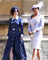 Priyanka Chopra and Abigail Spencer Royal Wedding 2018