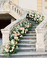 rachael cameron wedding stairs