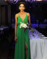 green reformation spring 2018 wedding dress