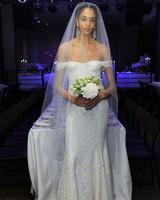 reformation off-the-shoulder wedding dress spring 2018