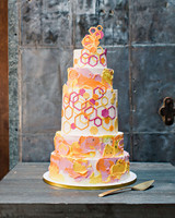 risa ross wedding brooklyn new york cake