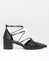 Shoes that won't sink asos studded block heels