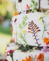 floral cake detail