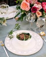 stephanie tim wedding soup in bowl