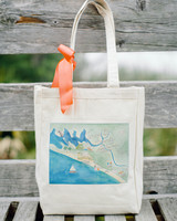 map welcome bag